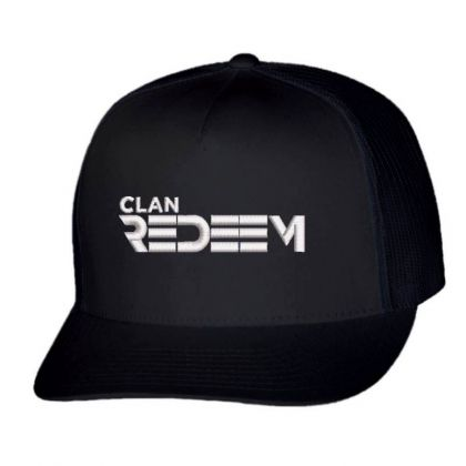 Clan Redeem Embroidered Hat Trucker Cap Designed By Madhatter