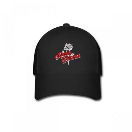 Rosa Negra Embroidered Hat Baseball Cap Designed By Madhatter