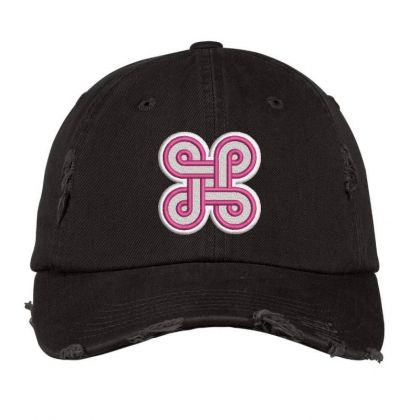 Spinner Embroidered Hat Distressed Cap Designed By Madhatter