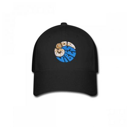 Good Vibes Embroidered Hat Baseball Cap Designed By Madhatter