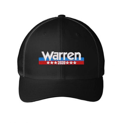 Warren 2020 Embroidered Hat Embroidered Mesh Cap Designed By Madhatter