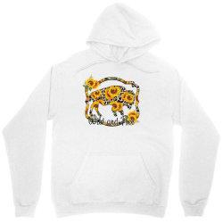 Wild and Free Sunflower Buffalo Unisex Hoodie | Artistshot
