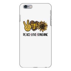 peace love sunshine iPhone 6 Plus/6s Plus Case | Artistshot