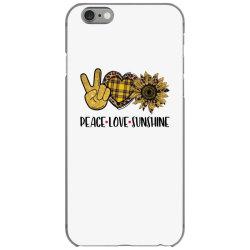peace love sunshine iPhone 6/6s Case | Artistshot