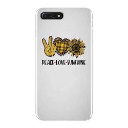 peace love sunshine iPhone 7 Plus Case | Artistshot