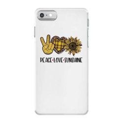 peace love sunshine iPhone 7 Case | Artistshot
