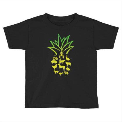 Farmer Pinapple Toddler T-shirt Designed By Hoainv