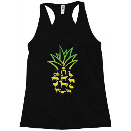 Farmer Pinapple Racerback Tank Designed By Hoainv