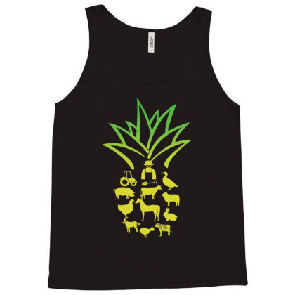 Farmer Pinapple Tank Top Designed By Hoainv
