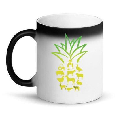 Farmer Pinapple Magic Mug Designed By Hoainv