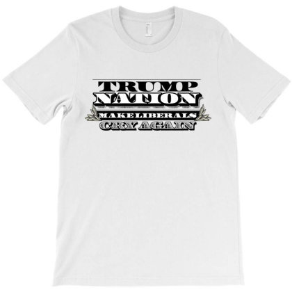 Trump Nation License Plate T-shirt Designed By Tiococacola