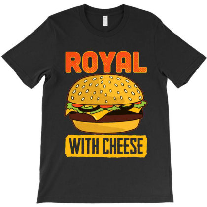 Royal Burger Food T-shirt Designed By Star Store