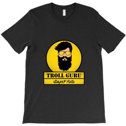 Troll Guru T-shirt Designed By Bharath.parasi