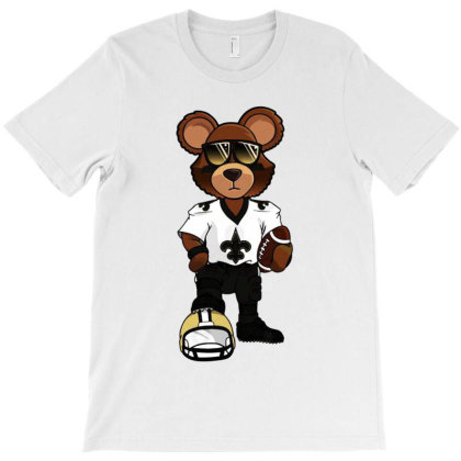 Awesome Nola Bear T-shirt Designed By Honey Shop