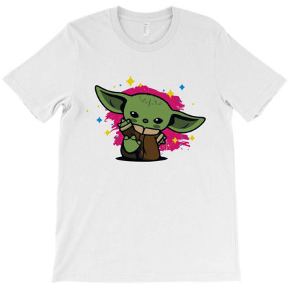 Funny Baby Yoda T-shirt Designed By Honey Shop