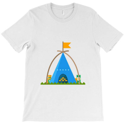 Hindu Temple Abstract 199 T-shirt Designed By Thakurji