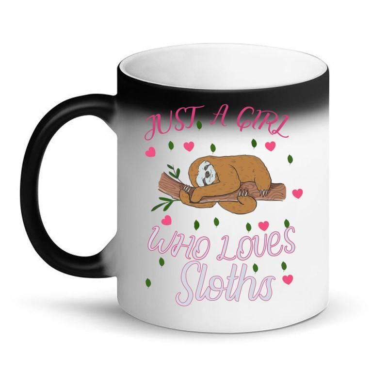 Just A Girl Who Lowes Sloths Magic Mug | Artistshot