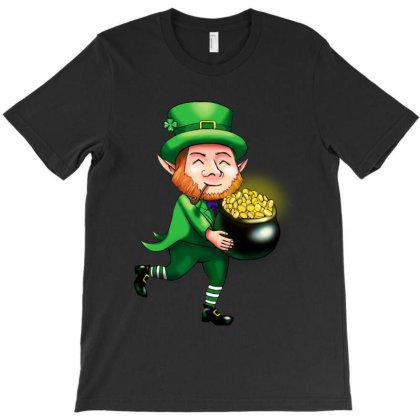 Leprechaun Plant Food Irish T-shirt Designed By Honey Shop