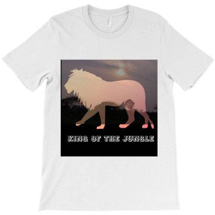 Lion Abstract 211 T-shirt Designed By Thakurji
