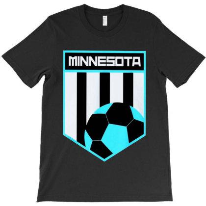 Minnesota Soccer T-shirt Designed By Honey Shop
