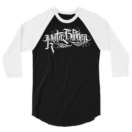 Rata Blanca 3/4 Sleeve Shirt Designed By Tiococacola
