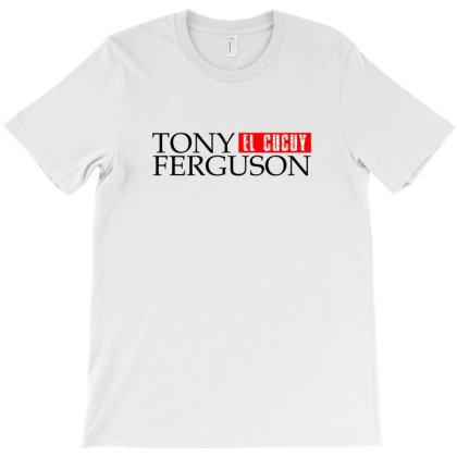 Tony Ferguson - Black T-shirt Designed By Ampun Dj