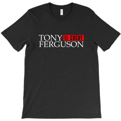 Tony Ferguson - White T-shirt Designed By Ampun Dj