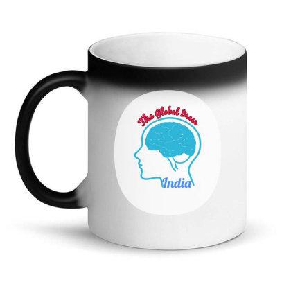 India Global Brain Magic Mug Designed By Vishwas-shetty
