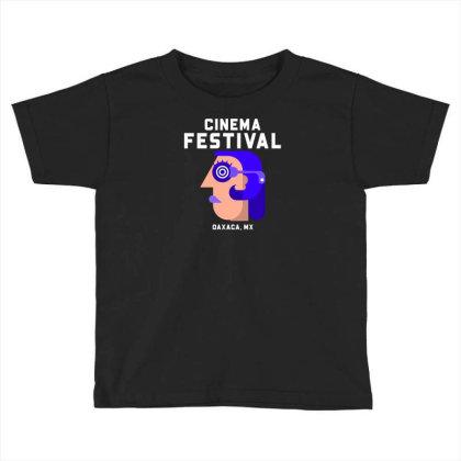 Cinema Festival Toddler T-shirt Designed By Ika