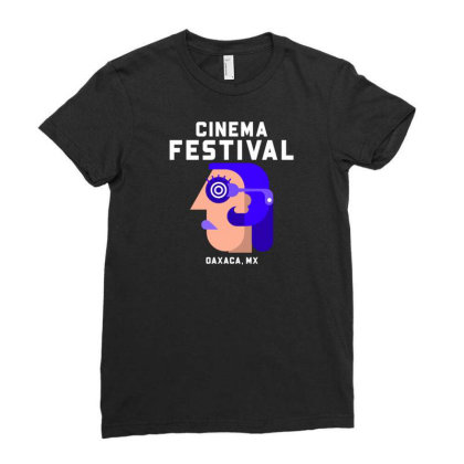 Cinema Festival Ladies Fitted T-shirt Designed By Ika