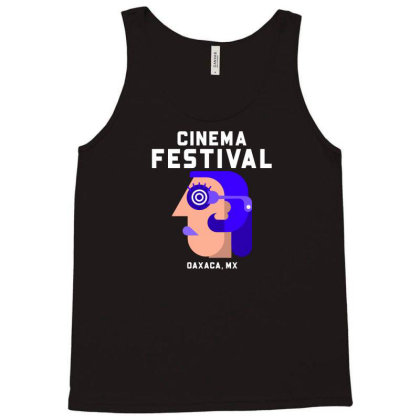 Cinema Festival Tank Top Designed By Ika