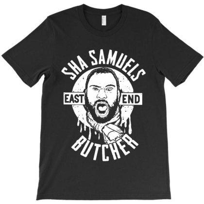 Sha Samuels East End Butcher T-shirt Designed By Honey Shop