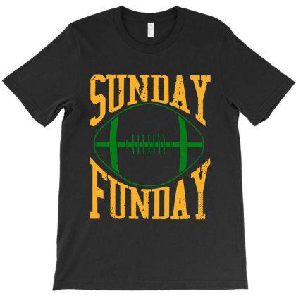 Sunday Funday Sport T-shirt Designed By Honey Shop