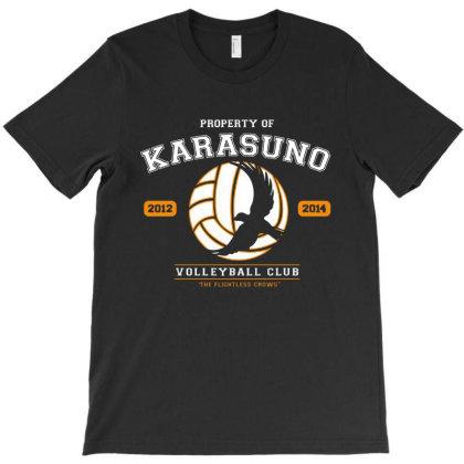 Team Karasuno T-shirt Designed By Honey Shop