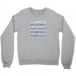 harry potter spells_vectorized Crewneck Sweatshirt | Artistshot