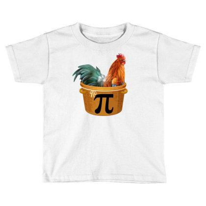 Chicken Pot Pi Day Toddler T-shirt Designed By Badaudesign