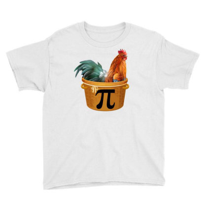 Chicken Pot Pi Day Youth Tee Designed By Badaudesign