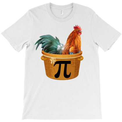 Chicken Pot Pi Day T-shirt Designed By Badaudesign
