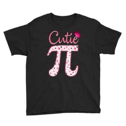 Cutie Pi Youth Tee Designed By Badaudesign