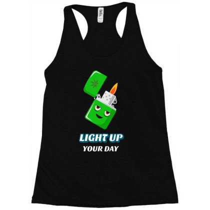Light Up Your Day Racerback Tank Designed By Ika