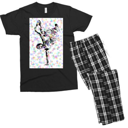 Break Down Men's T-shirt Pajama Set Designed By Tjr