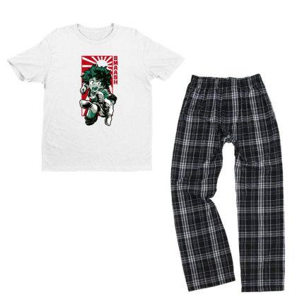 Boku No Hero Youth T-shirt Pajama Set Designed By Paísdelasmáquinas