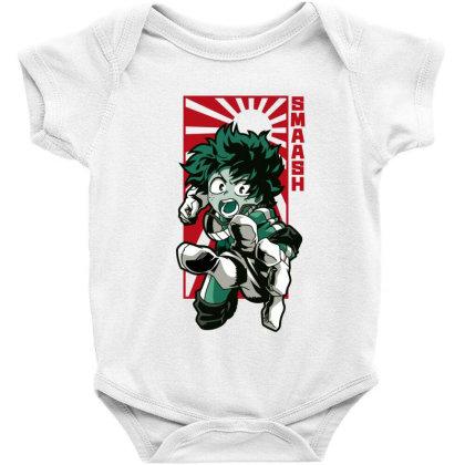 Boku No Hero Baby Bodysuit Designed By Paísdelasmáquinas