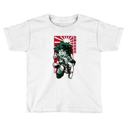 Boku No Hero Toddler T-shirt Designed By Paísdelasmáquinas