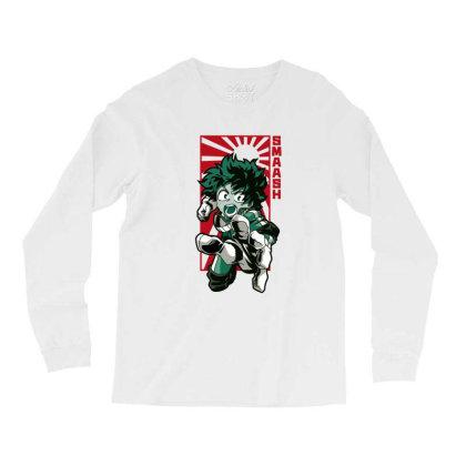 Boku No Hero Long Sleeve Shirts Designed By Paísdelasmáquinas