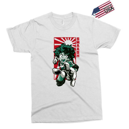 Boku No Hero Exclusive T-shirt Designed By Paísdelasmáquinas