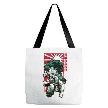 Boku No Hero Tote Bags Designed By Paísdelasmáquinas