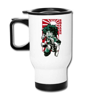 Boku No Hero Travel Mug Designed By Paísdelasmáquinas