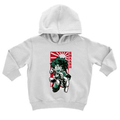 Boku No Hero Toddler Hoodie Designed By Paísdelasmáquinas