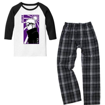 Pain Naruto Youth 3/4 Sleeve Pajama Set Designed By Paísdelasmáquinas